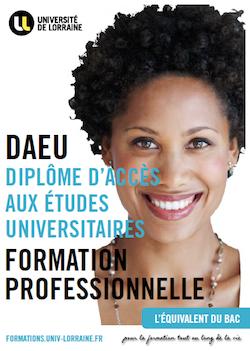 DAEU Univeristé de Lorraine