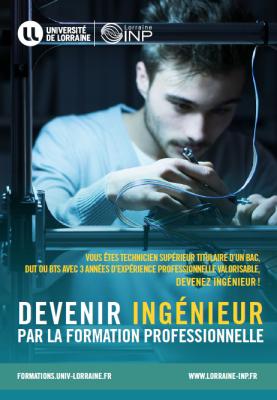 Devenir Ingénieur par la formation professionnelle à l'Université de Lorraine